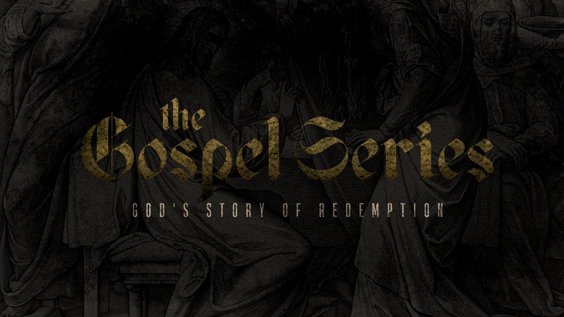 The Gospel Series Title Slide