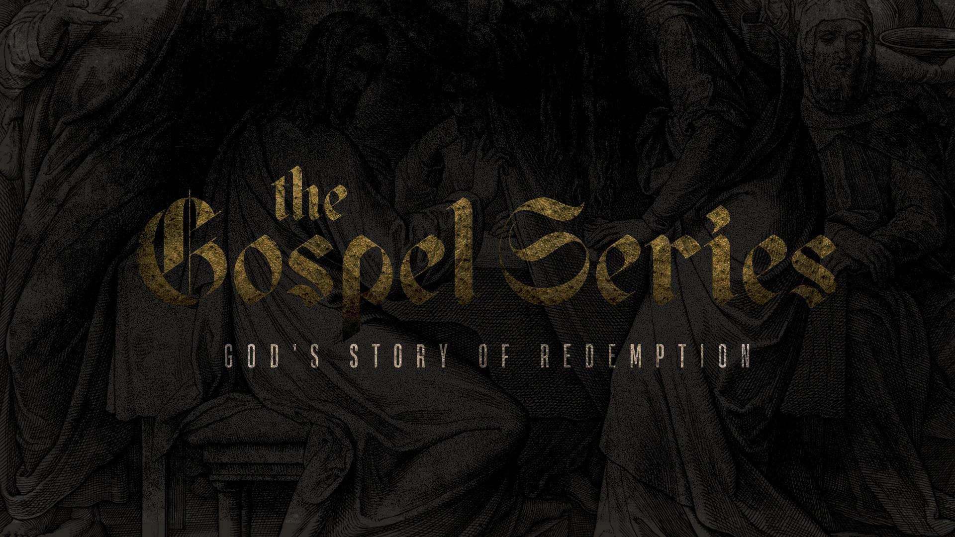 The Gospel Series Title Slide