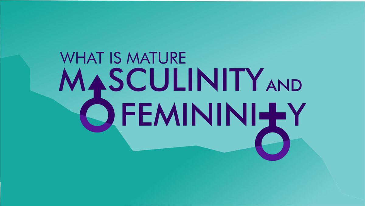 Masculine Feminine TITLE SLIDE